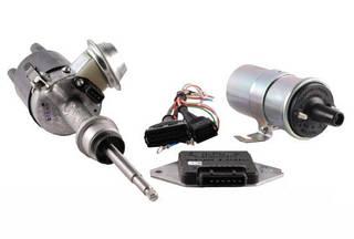 Бесконтактное электронное зажигание ВАЗ 2101 2102 2104 2105 (1.2-1.3 л)   (короткий шток)