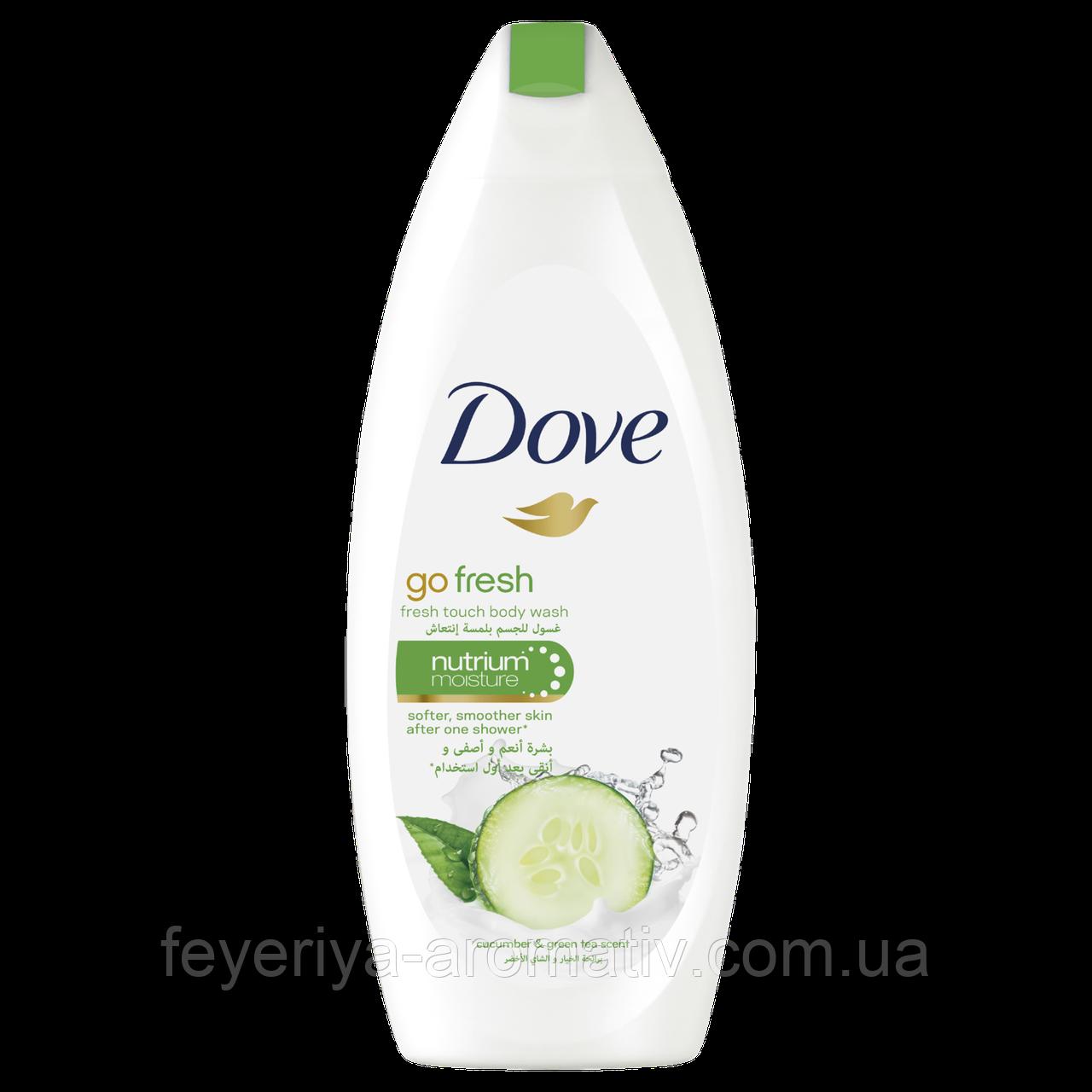 Гель для душа Dove Go Fresh огуречный, 250гр (Германия)