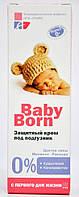 Защитный крем под подгузник Эльфа Baby Born 75мл.