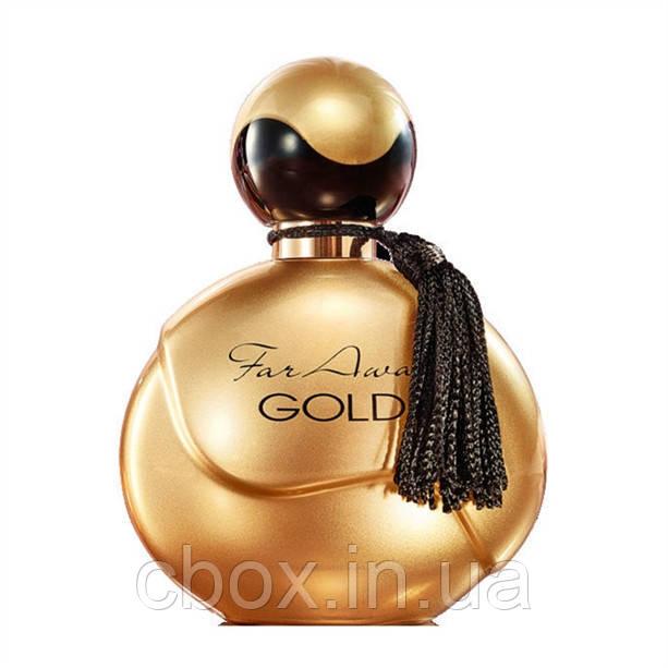 Женская парфюмерная вода Far Away Gold, Avon, Фар эвэй голд, 50 мл, 35307