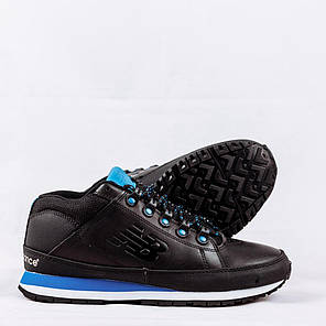 Мужские кроссовки New Balance 754 Winter Shoes черно-синие топ реплика, фото 2