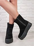 Зимние ботинки криперы замшевые 6205-28, фото 2