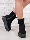 Зимние ботинки криперы замшевые 6205-28, фото 3