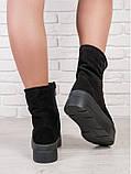 Зимние ботинки криперы замшевые 6205-28, фото 4