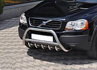 Кенгурятник Volvo XC90 2003-2015 (WT003 нерж)