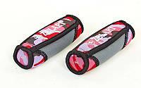 Гантели для фитнеса с мягкими накладками (2 x 1кг) FI-5730-2