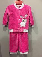 Махровый костюм для девочки
