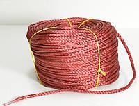Верёвка нетонущая, красная Haida 12 red