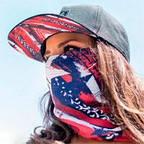 Мультифункциональные защитные маски - банданы.