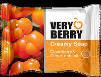 Крем-мыло Cloudberry & Cedar nuts oil (Морошка и масло кедровых орехов) Very Berry 100г.