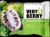 Крем-мыло Noni & Monoi oil (Нони и масло моной) Very Berry 100г.