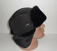 Мужская зимняя шапка-ушанка опт