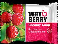 Крем-мыло Rasberry & Macadamia oil (Малина и масло макадамии) Very Berry 100г.
