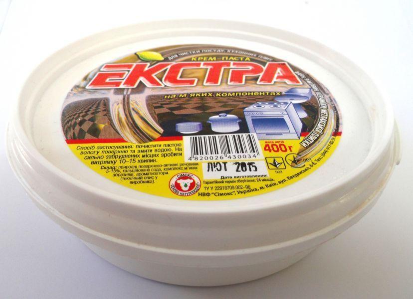 Крем-паста для чистки Екстра 400гр.