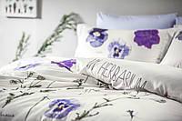Комплект постельного белья Tivolyo Home евро размера Frezia
