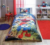 Детское подростковое постельное белье TAC Disney Sirinler the Lost Village Ранфорс