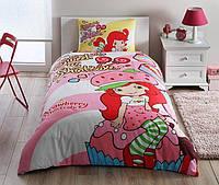 Детское подростковое постельное белье TAC Disney Shortcake Cute Ранфорс