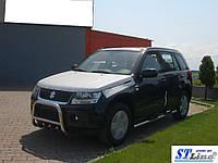 Кенгурятник Suzuki Grand Vitara 2005-2014 гг (QT006 нерж)