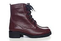 Женские кожаные зимние ботинки 4049-vlf