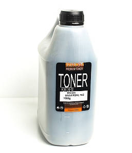 Toнeр-порошок Patriot Ricoh Universal II (Чёрный, 1000 грамм, бутылка)