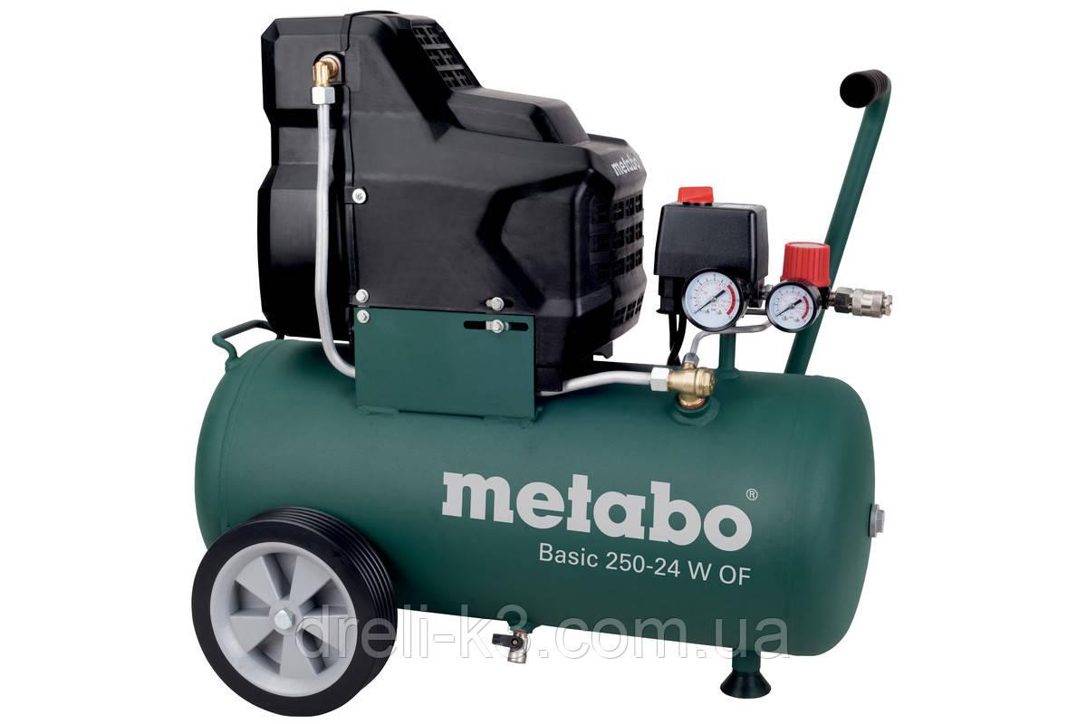 Воздушный компрессор без масла Metabo BASIC 250-24 W OF