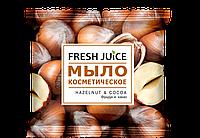 Мыло косметическое Hazelnut & Cocoa (Фундук и какао) Fresh Juice 75гр.