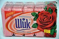 Мыло туалетное  Роза + Крем  Шик  5*70г. экопак
