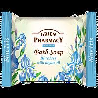 Мыло туалетное Голубой ирис с оливковым маслом GREEN PharmacY 100гр.