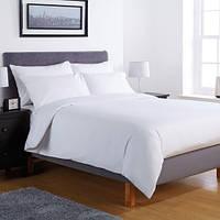 Постельное белье - Lotus ранфорс белое двухспальный для гостинец.