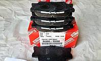 Оригинал задние тормозные колодки TOYOTA CAMRY 50 2.5