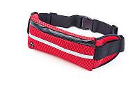 Ремень-сумка спортивная (поясная) для бега и велопрогулки FB-5086