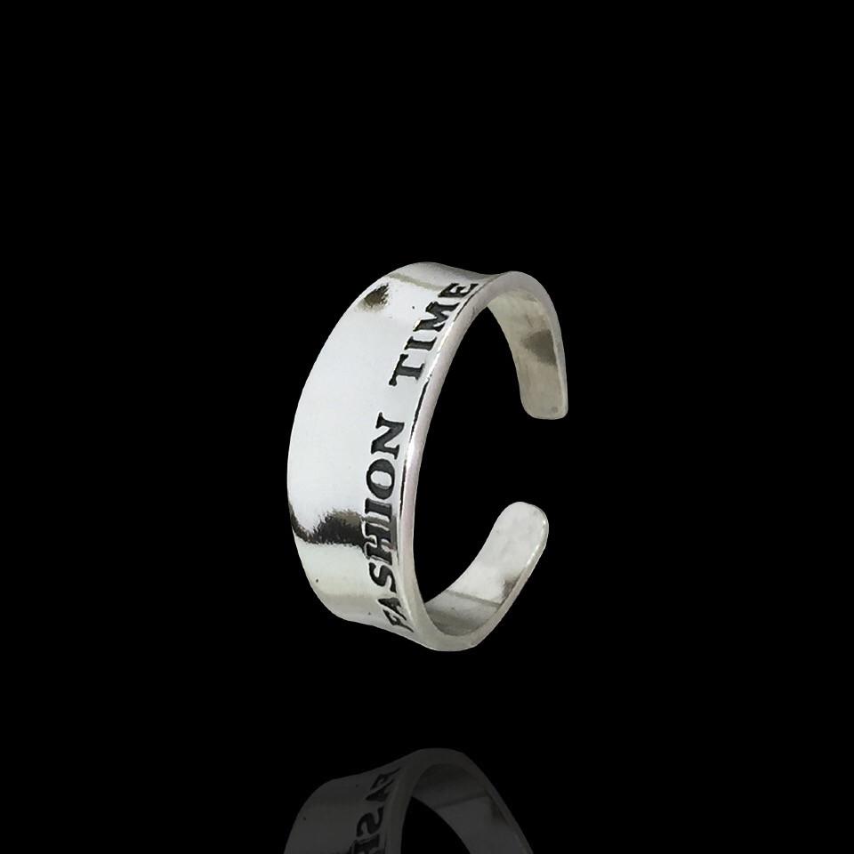 Срібне фаланговое кільце Fashion Time