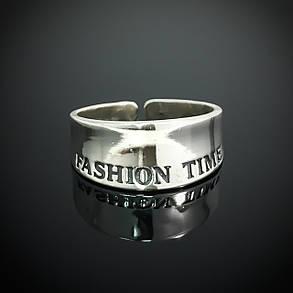 Срібне фаланговое кільце Fashion Time, фото 2