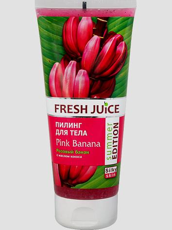Пилинг для тела  Pink Banana (Розовый банан) Fresh Juice 200мл., фото 2