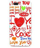 Оригинальный чехол панель накладка для Xiaomi Mi A1 / Mi 5x с картинкой Love