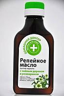 Репейное масло против перхоти с чайным деревом и розмарином Домашний доктор 100мл.