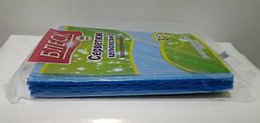 Салфетки целлюлозные влаговпитывающие универсальные БЛЕСК 3шт., фото 2