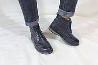 Мужские кожаные демисезонные ботинки UNCIA