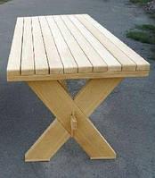 Стол из натурального дерева из комплекта Дельта 1,8м, фото 1