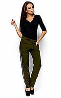 Молодіжні жіночі оливкові брюки Neo