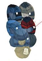 Шапка-шлем (капор) для мальчика AGBO синий, размер 50-52 см