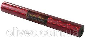 """Пленка самоклеющаяся """"Hong Da"""" 45 см. голографическая красная"""