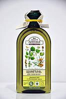 Шампунь для сухих волос Липовый цвет и облепиховое масло Зеленая Аптека 350мл.