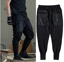 Гетто swag штаны с подтяжками и ремнями Dope Chef, фото 3