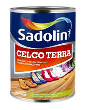 Уретано-алкидный лак для паркета  Sadolin CELCO TERRA (Селко Тера) 1л