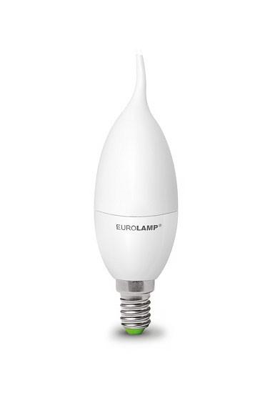 """LED Лампа свеча на ветру Eurolamp ЕКО серия """"D"""" 6W E14 4000K"""