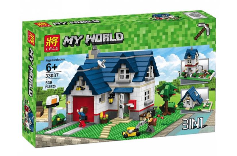 Конструктор Minecraft, Городской дом