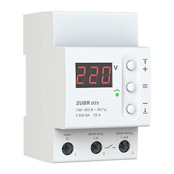 Реле контроля напряжения Zubr