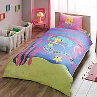 Детское подростковое постельное белье TAC Hallmark Mermaid Ранфорс