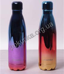 Термос-бутылка Kamille 500 мл из нержавеющей стали с герметичной крышкой, термобутылка, термочашка термокружка